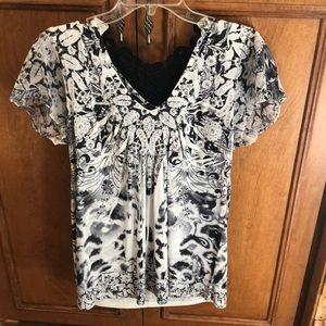 Dressy blouse shirt.